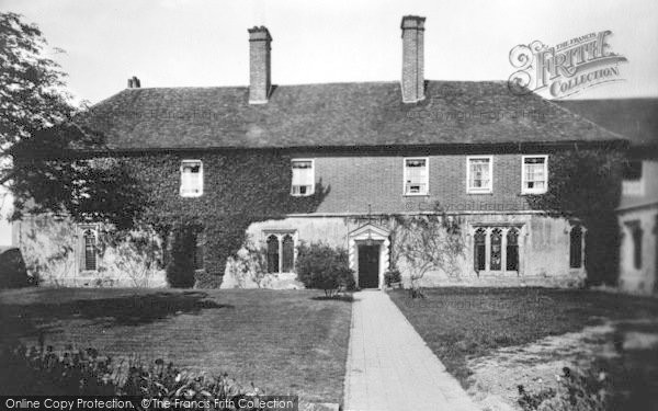 Photo of Wye, College Principal's House 1906