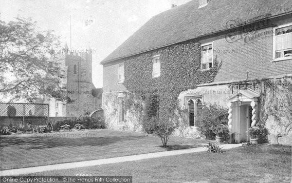 Photo of Wye, College Principal's House And Church 1906