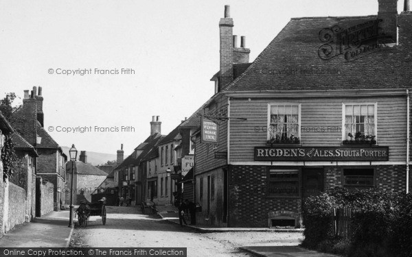 Photo of Wye, Flying Horse Inn 1903