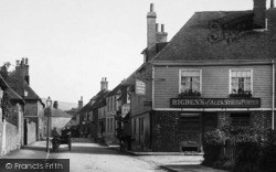 Wye, Flying Horse Inn 1903