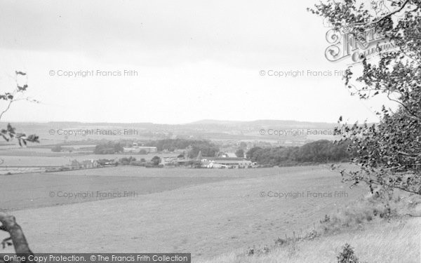 Photo of Wye, From The Downs c.1955