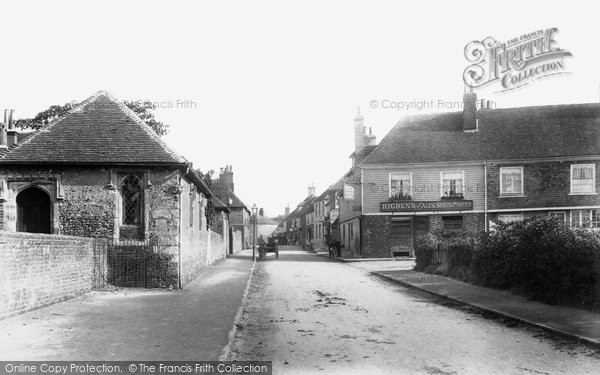 Photo of Wye, High Street 1903
