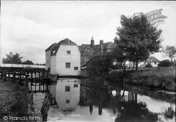 Mill 1908, Wye