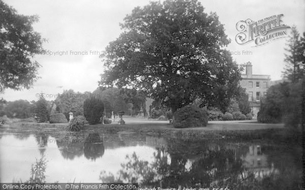 Photo of Wye, Olantigh And Lake 1901