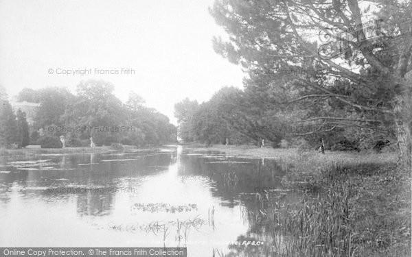 Photo of Wye, Olantigh, The Lake 1901