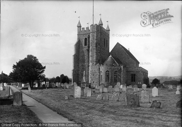 Photo of Wye, St Gregory And St Martin's Church 1906