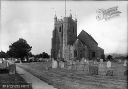 Wye, St Gregory And St Martin's Church 1906