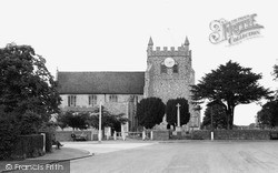 Wye, St Gregory And St Martin's Church c.1955