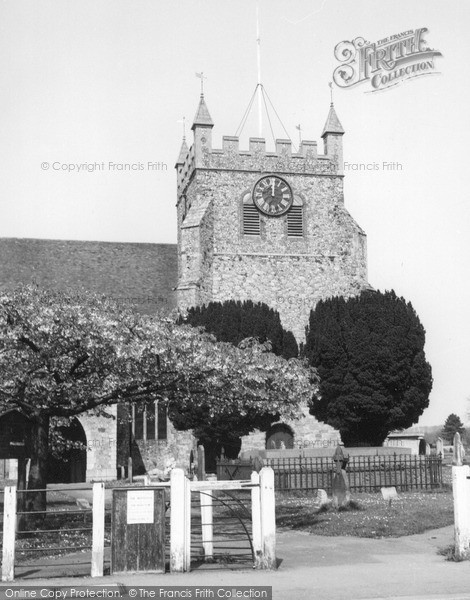 Photo of Wye, St Gregory And St Martin's Church c.1965