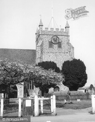 Wye, St Gregory And St Martin's Church c.1965
