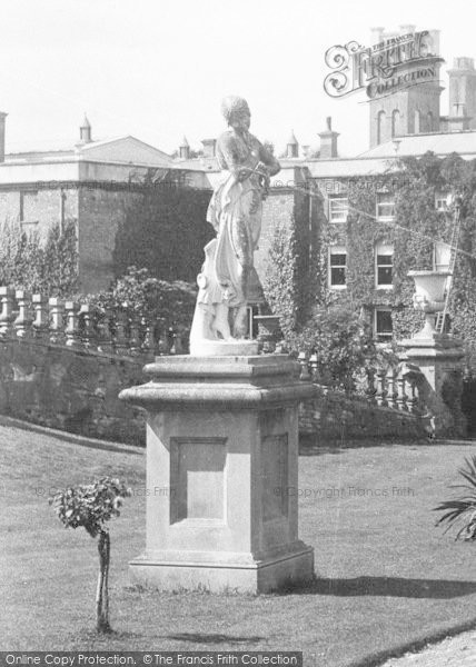 Photo of Wye, Statue, Olantigh Towers 1901