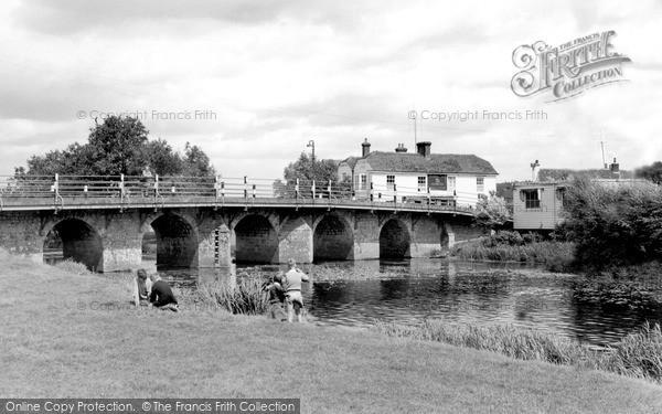 Photo of Wye, The Bridge c.1955