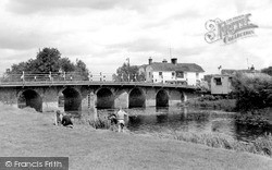 Wye, The Bridge c.1955
