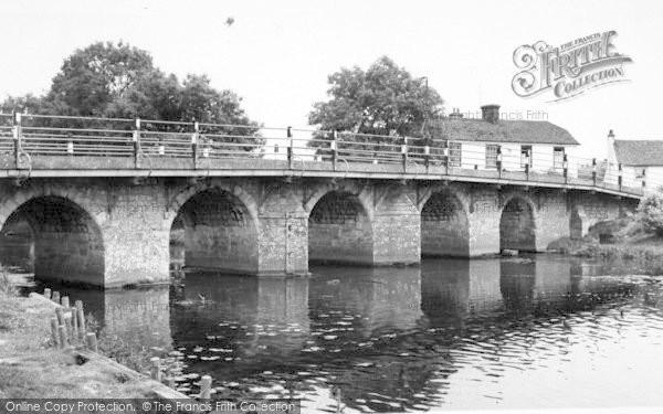Photo of Wye, The Bridge c.1965
