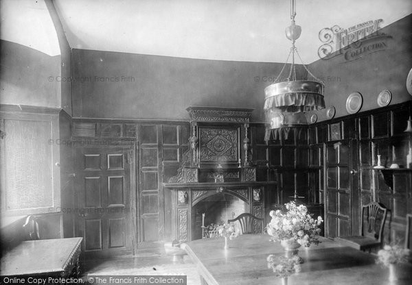 Photo of Wye, The College, Dining Room 1908