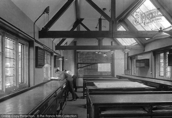 Photo of Wye, The College, Drawing Offices 1908