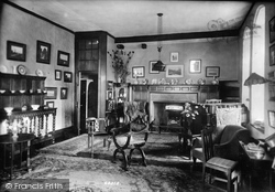 Wye, The College, Drawing Room 1908