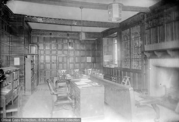 Photo of Wye, The College, Library 1908