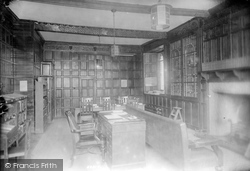 Wye, The College, Library 1908