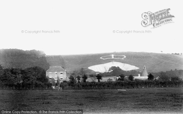 Photo of Wye, The Farm And Crown 1903