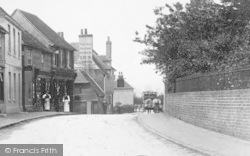 Wye, The Flying Horse Inn 1908