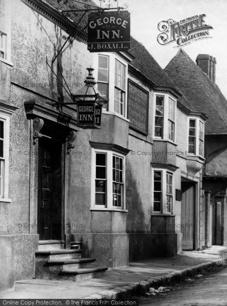 Photo of Wye, The George Inn, Bridge Street 1903