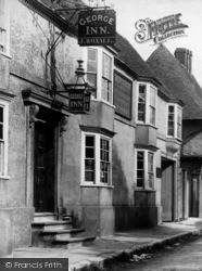 Wye, The George Inn, Bridge Street 1903