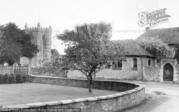 Photo of Wye, The Green And Church c.1965