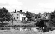 Wye, the Victoria Inn c1955