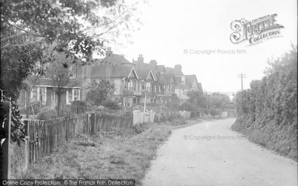 Photo of Wye, The Village 1918