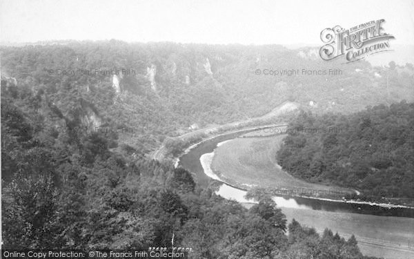Photo of Wye Valley, Coldwell Rocks 1893