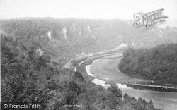 Wye Valley, Coldwell Rocks 1893