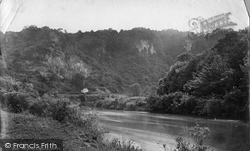 Wye Valley, Coldwell Rocks c.1878