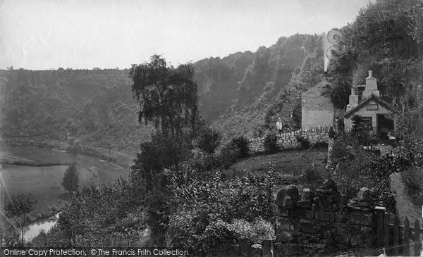 Photo of Wye Valley, Coldwell Rocks c.1878