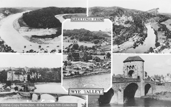 Photo of Wye Valley, Composite c.1950