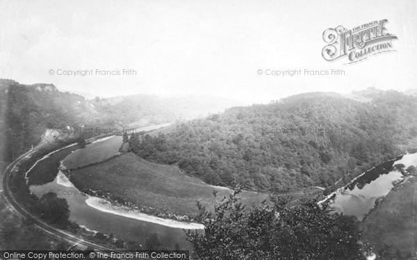 Photo of Wye Valley, From Coldwell Rocks 1893