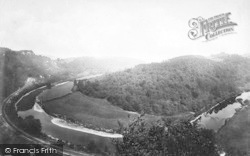 Wye Valley, From Coldwell Rocks 1893