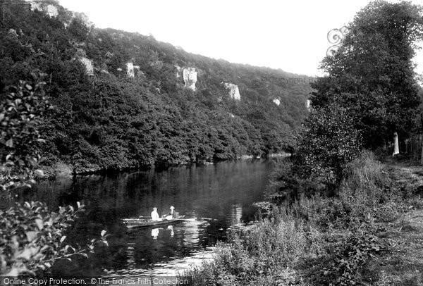 Photo of Wye Valley, Seven Sister Rocks 1914