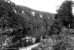 Wye Valley, Seven Sister Rocks 1914