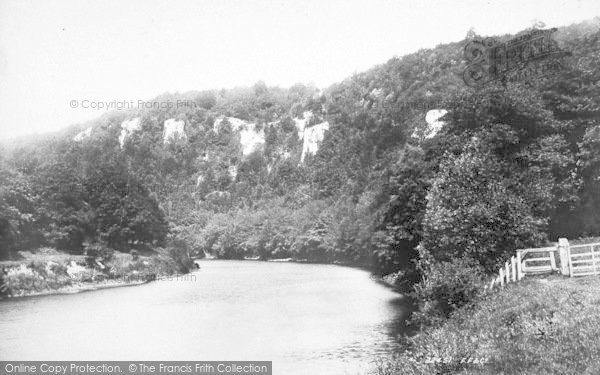 Photo of Wye Valley, Seven Sisters Rocks 1893