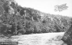 Wye Valley, Seven Sisters Rocks 1893