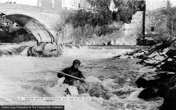Photo of Wye, White Water Canoeing On The River Wye c.1965