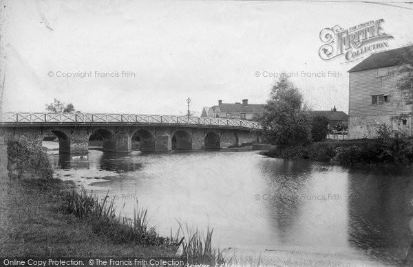 Photo of Wye, Wye Bridge 1901