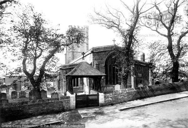 Photo of Wyke Regis, All Saints Church And Lychgate 1898