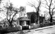 Wyke Regis, All Saints Church and Lychgate 1898