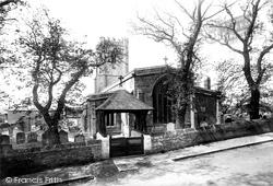 All Saints Church And Lychgate 1898, Wyke Regis