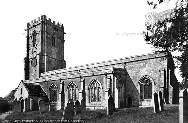 Photo of Wyke Regis, All Saints Church c.1875