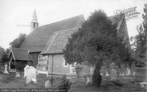 Photo of Wyke, The Church 1906