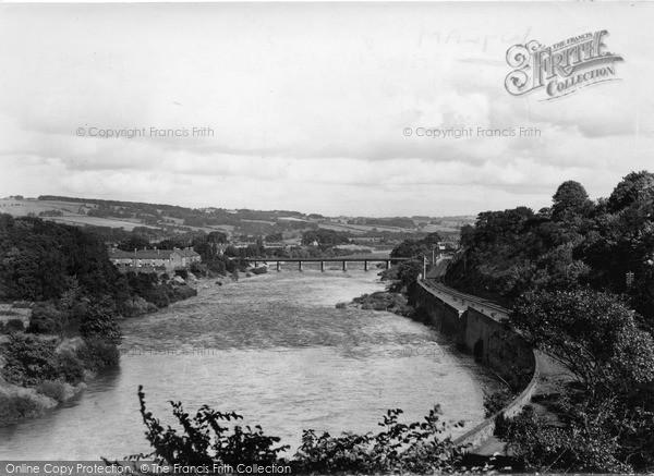 Photo of Wylam, Bridge c.1950