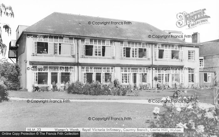 Photo of Wylam, Castle Hill, Royal Victoria Infirmary, Women's Wards c.1965